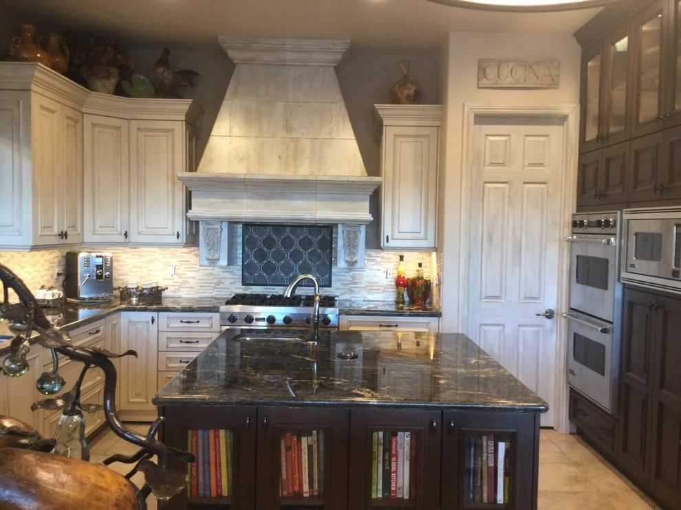 Fashion Outlets of Las Vegas for a  Kitchen with a Viking and Custom Home Remodel Las Vegas by Diane Cabral Interiors