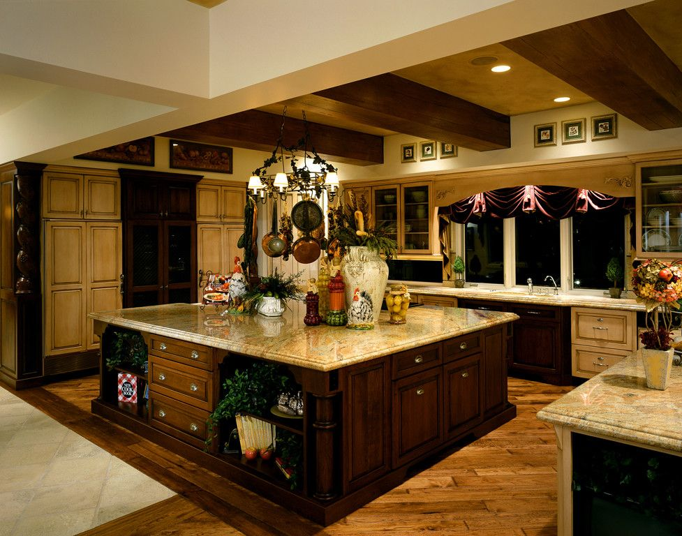 Fashion Outlets of Las Vegas for a Traditional Kitchen with a Bathroom and Private Custom Home Las Vegas by Diane Cabral Interiors