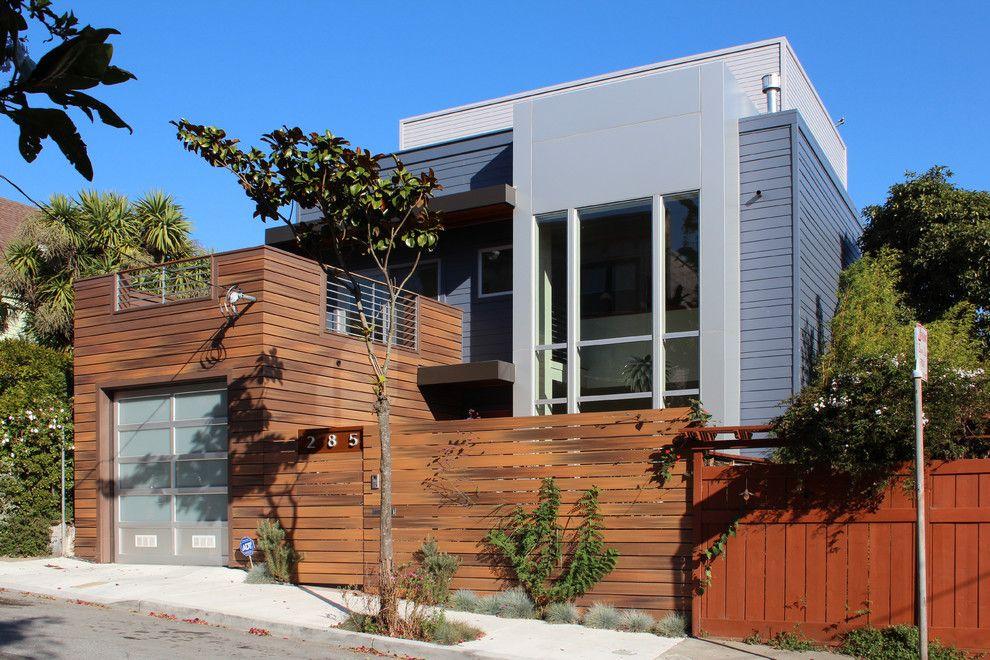 Fenceworks for a Contemporary Exterior with a Aluminum Composite Panel Siding and Contemporary Exterior by Studios2arch.com