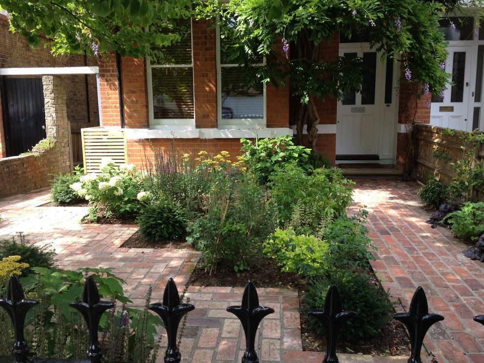 Feng Shui Front Door for a Traditional Landscape with a Traditional and Town Front Garden by Dawn Garden Design