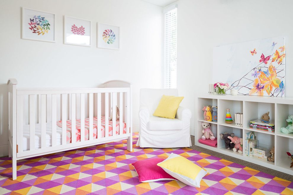 Fenton House Fenton Mi for a Contemporary Nursery with a Framed Artwork and Bondi House by Carmen Parker Styling