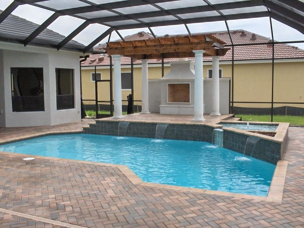 Ferrari of Tampa Bay for a  Pool with a Beautiful Pools and Our Work by Pegasus Pools of Tampa Bay, Inc