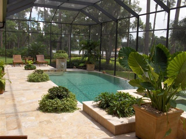 Ferrari of Tampa Bay for a  Pool with a Custom Built and Our Work by Pegasus Pools of Tampa Bay, Inc