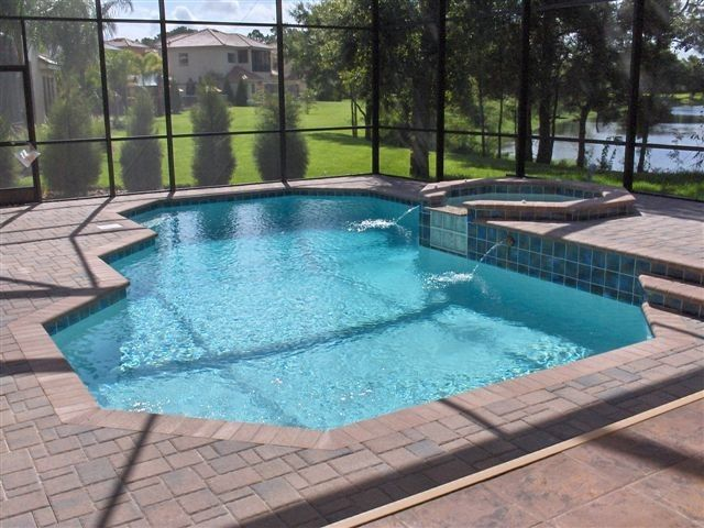 Ferrari of Tampa Bay for a  Pool with a Custom Pools and Our Work by Pegasus Pools of Tampa Bay, Inc