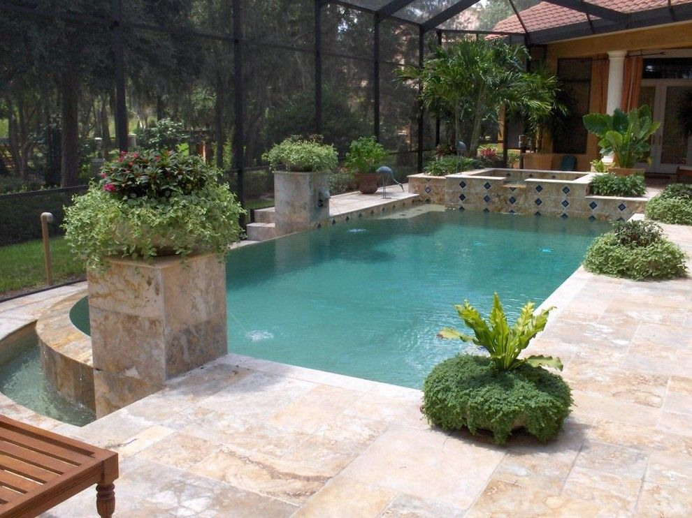 Ferrari of Tampa Bay for a  Pool with a Outdoor Living and Our Work by Pegasus Pools of Tampa Bay, Inc