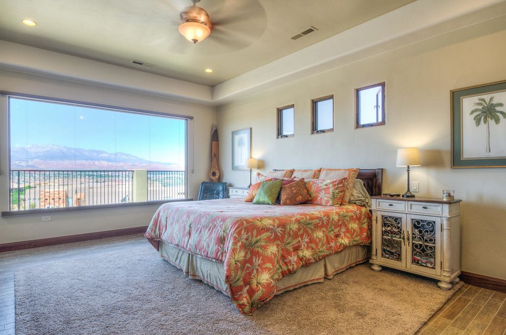 Firerock for a Beach Style Bedroom with a Beach Style and Stone Cliff #401 by Firerock Custom Homes