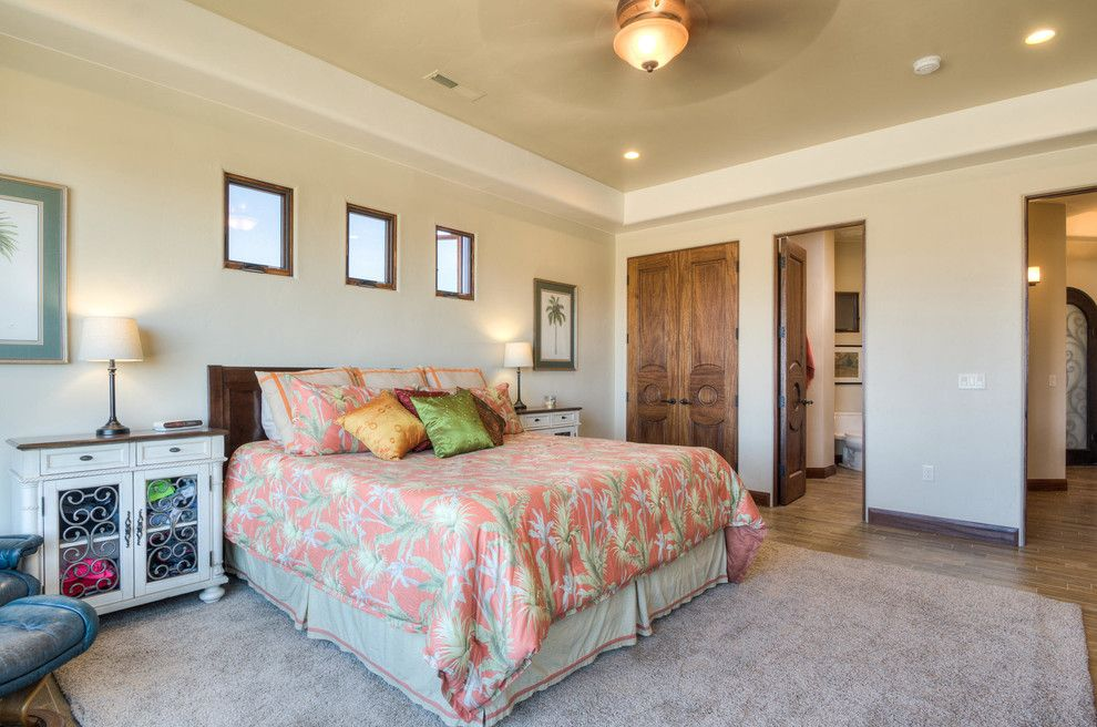 Firerock for a Tropical Bedroom with a Tropical and Stone Cliff #401 by Firerock Custom Homes