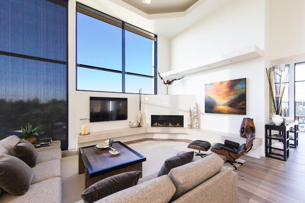 Fireside Portland for a Modern Living Room with a Modern Fireplace and Great Room Fireplace by Fireside Home Solutions