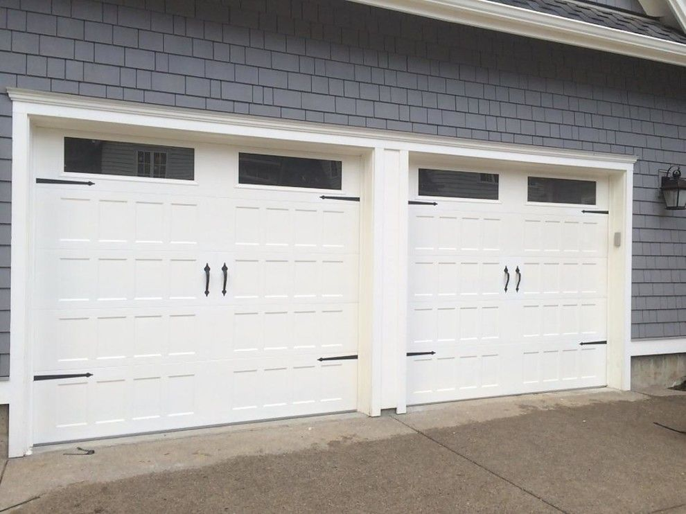 Fireside Portland for a Traditional Garage with a Carriage Garage Doors and Garage Doors by Fireside Home Solutions