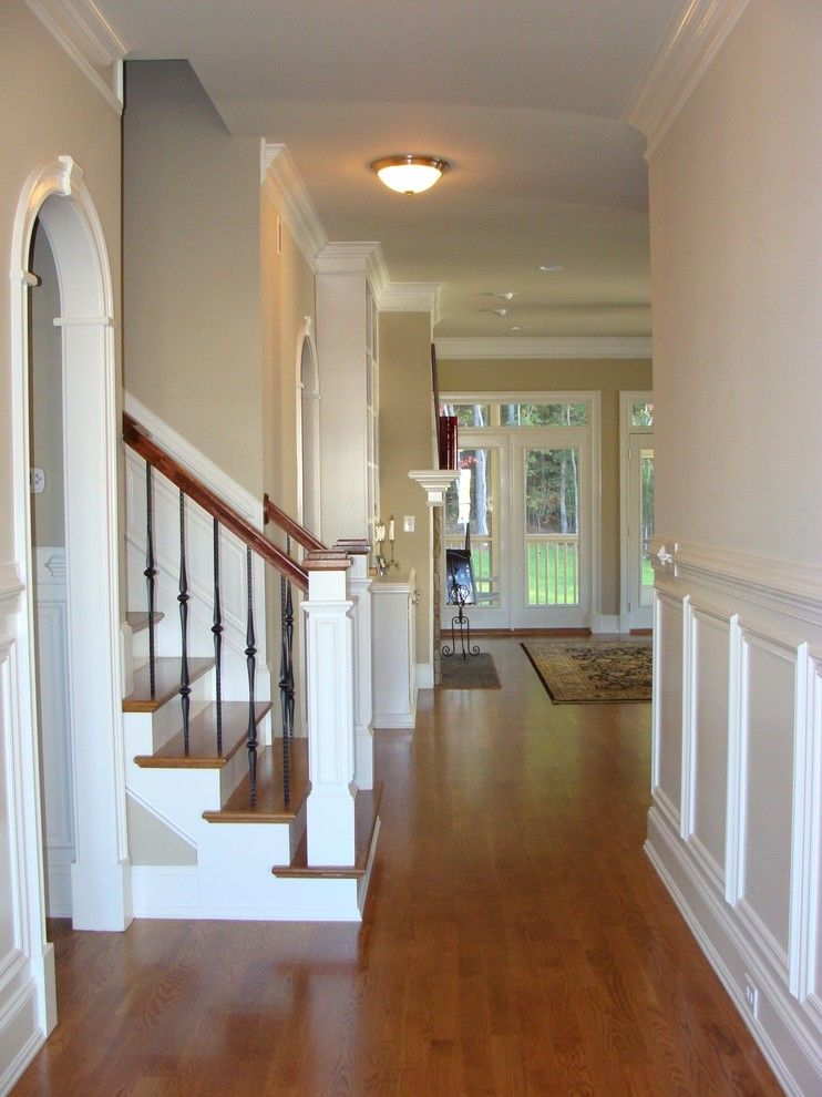 Firestone Cary Nc for a Traditional Spaces with a Traditional and #47 Cary, Nc Design for New Home Construction by Kim Johnson Interiors