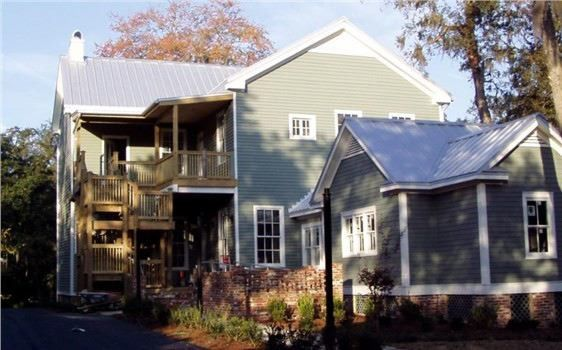 Firestone Fayetteville Nc for a Traditional Exterior with a Metal Roof and Metal Roofing Energy Efficient Fayetteville Nc by Veteran Builders Fayetteville Nc
