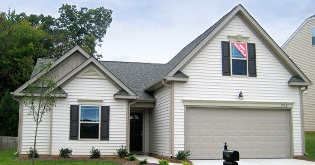 Firestone Raleigh Nc for a Traditional Exterior with a North Carolina New Home Builders and Exterior Options with Eastwood Homes! by Eastwood Homes- Triad, NC