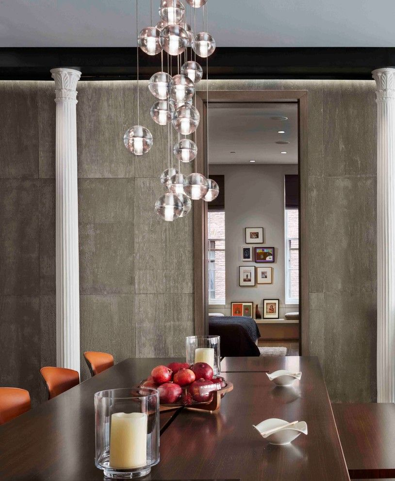 Flexform for a Contemporary Spaces with a Poltrona Frau and Bond Street Loft by Axis Mundi