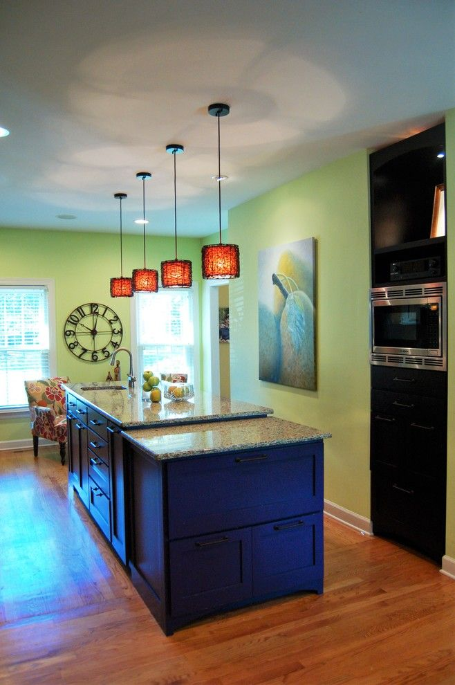 Ford Franklin Tn for a Eclectic Kitchen with a Recycled Glass Counter Top and Family Home in Grassland.  Franklin, Tn. by Mary Thompson Johns   Design Coach