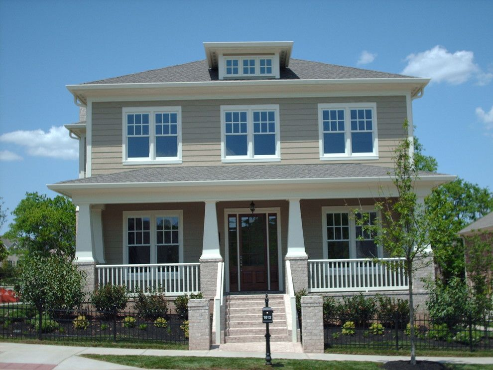 Ford Franklin Tn for a Traditional Exterior with a Estatevue and Deer Creek Homes Exteriors by Deer Creek Homes, Inc.