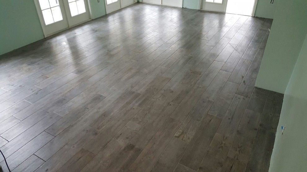 Frank Family Winery for a  Spaces with a Wood Look Tile and Our Installations by Frank Hollinger Family Flooring