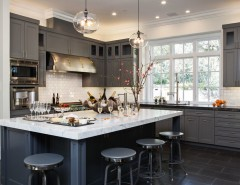 French Chateau for a Transitional Kitchen with a Transitional and French Chateau - Atheron by Gary J Ahern, AIA - Focal Point Design