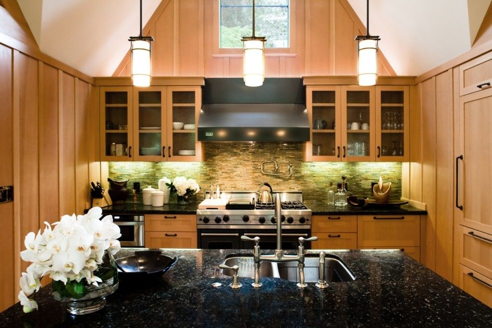 Front Range Lumber for a Traditional Kitchen with a Pendant Lighting and Ross Residence by Fatima Mcnell