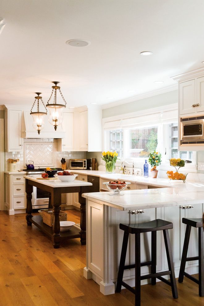 Fruit Flies in Kitchen for a Traditional Kitchen with a Pendant Lights and Tiburon Home Remodel by Mahoney Architects & Interiors