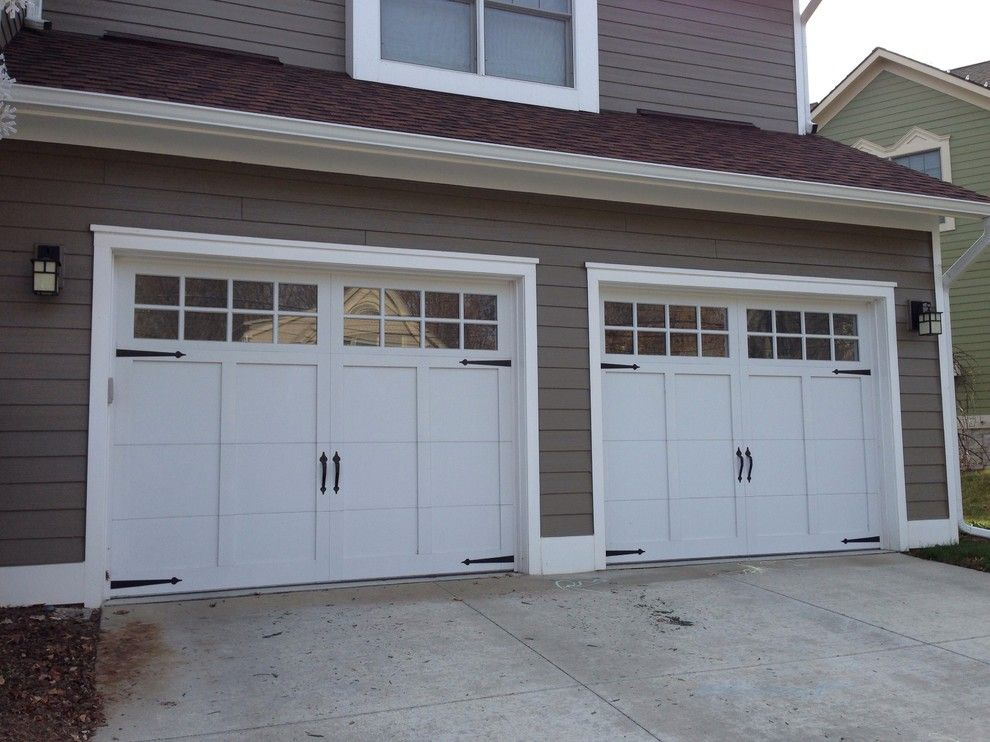 Garage Northville for a Craftsman Garage with a Carriage Doors and Carriage House Garage Doors by Premier Door Service