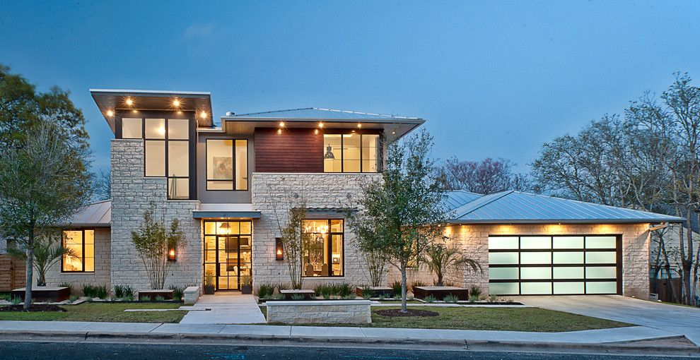 Garage Sales Okc for a Contemporary Exterior with a Contemporary and Cat Mountain Residence by Cornerstone Architects