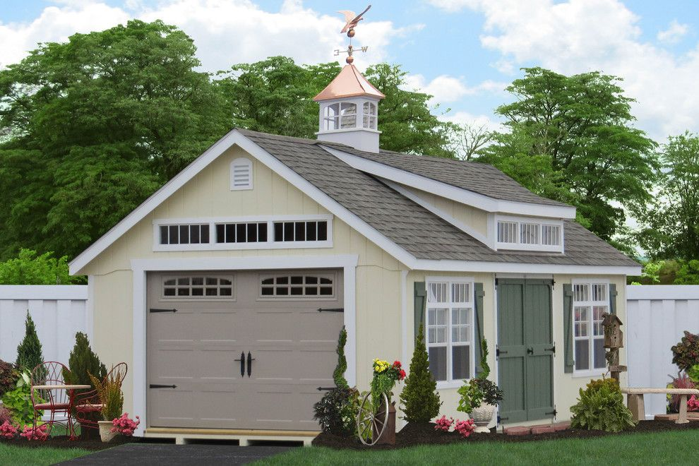 Garage Sales Okc for a Traditional Shed with a Buy Garden Sheds and 14x24 Premier Garden Garage for Sale by Sheds Unlimited Inc