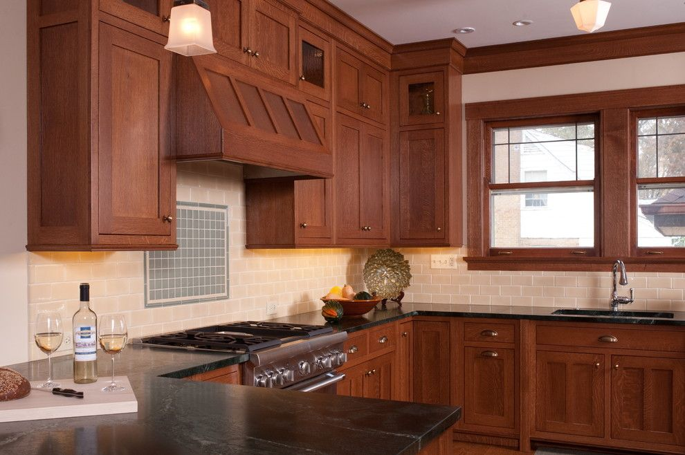 Gemcraft Homes for a Craftsman Kitchen with a Prairie and Lagrange Craftsman by Briggs Design Associates, Inc.