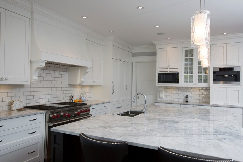 Gemcraft Homes for a Transitional Kitchen with a Calgary Custom Home and Elboya by Stonebridge Crafted Homes