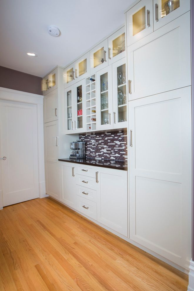 Gemcraft Homes for a Transitional Kitchen with a Large Kitchen Island and 1912 Renovation by Stonebridge Crafted Homes