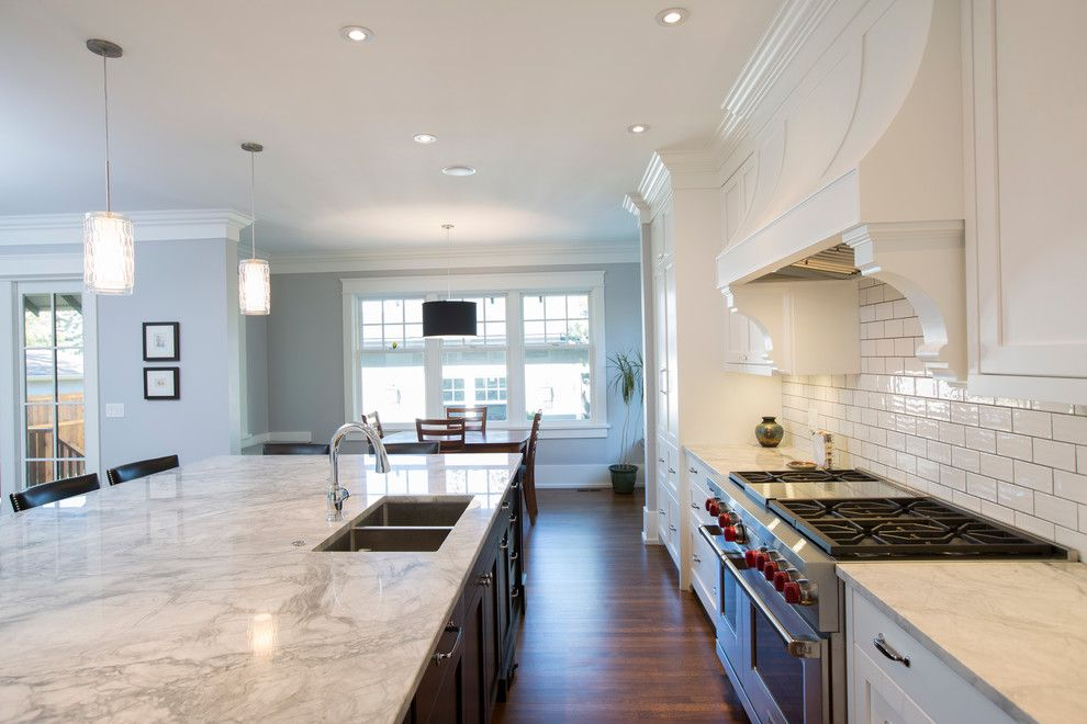 Gemcraft Homes for a Transitional Kitchen with a Stainless Steel Appliances and Elboya by Stonebridge Crafted Homes