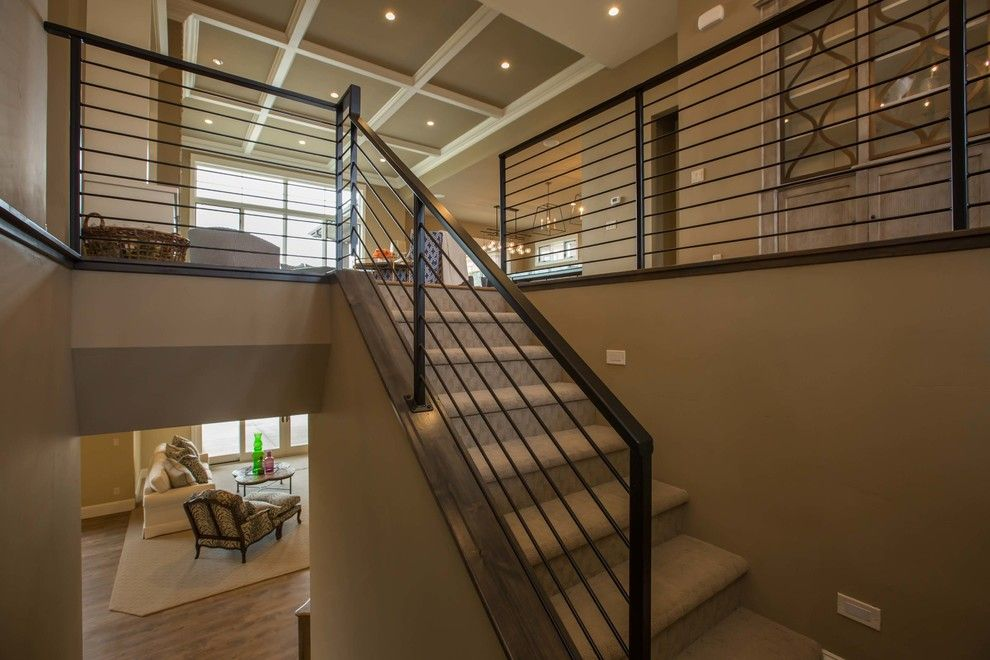 Georgia Contractors License for a Contemporary Staircase with a Project Management and Harmony Club #3921 by PJL Schuman Custom Homes