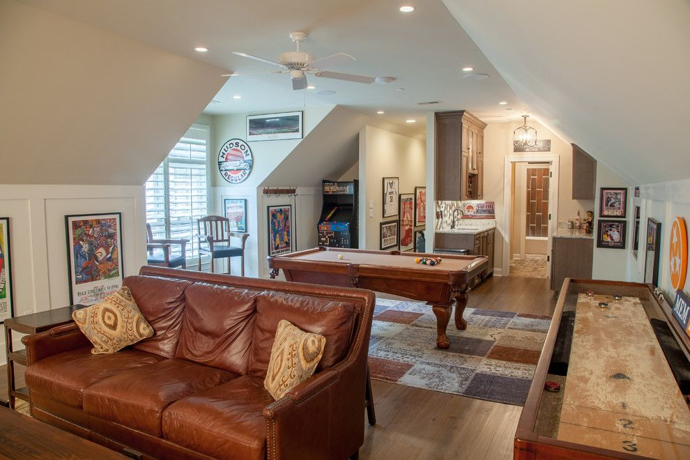 Germantown Theater for a Traditional Home Theater with a White Painted Wood and Germantown Custom Home by David Clark Construction, Llc