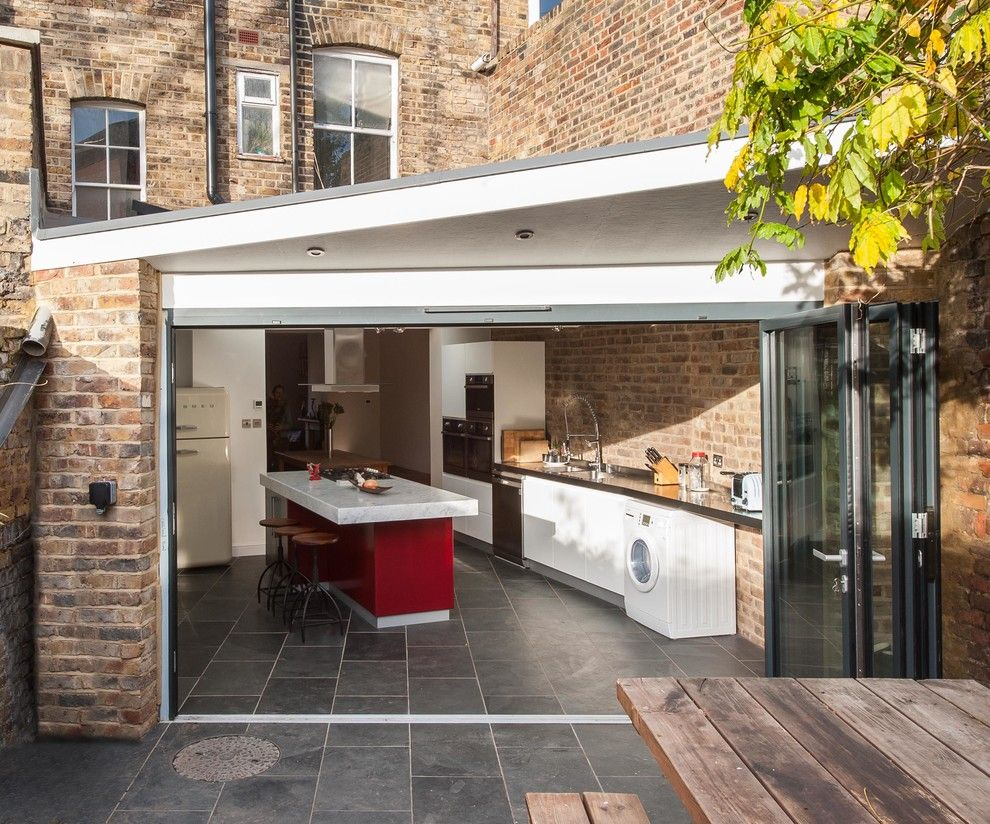 Get Rid of Ants in Kitchen for a Contemporary Kitchen with a Architect Design and Kitchen Extension in Hackney by Architect Your Home