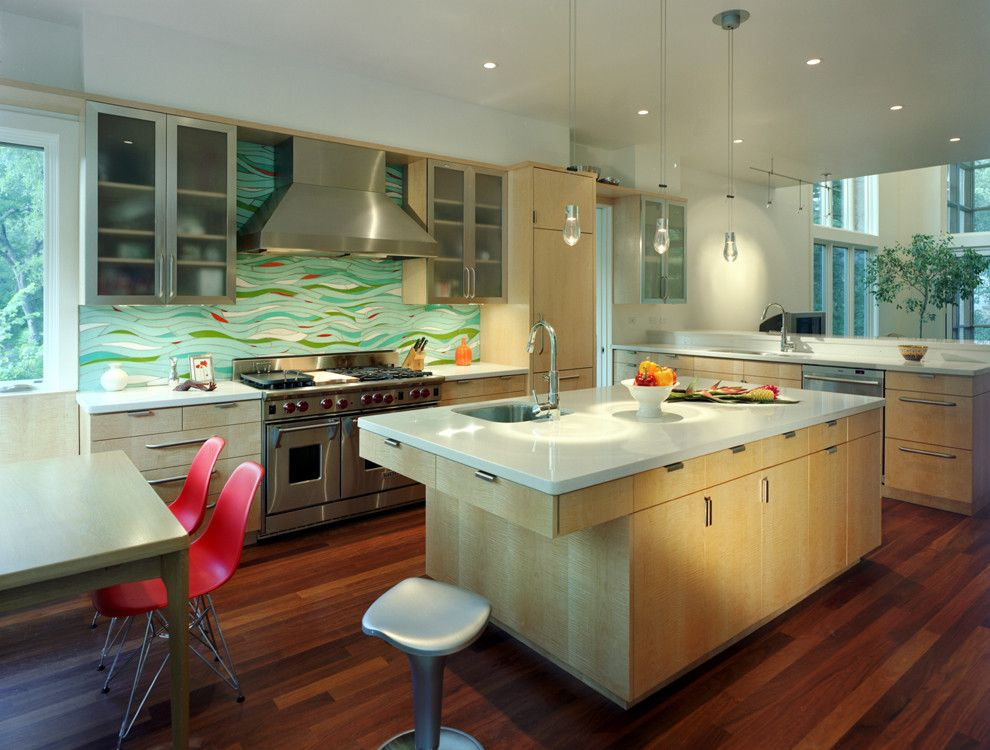 Get Rid of Ants in Kitchen for a Contemporary Kitchen with a Eat in Kitchen and Robbs Run Residence by Mckinney York Architects