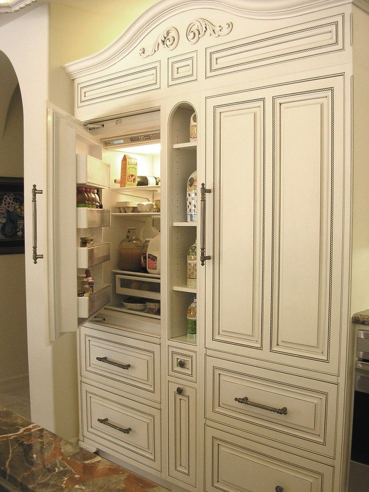 Get Rid of Ants in Kitchen for a Traditional Kitchen with a Cabinet Front Refrigerator and Rancho Santa Fe by Design Moe Kitchen & Bath / Heather Moe Designer