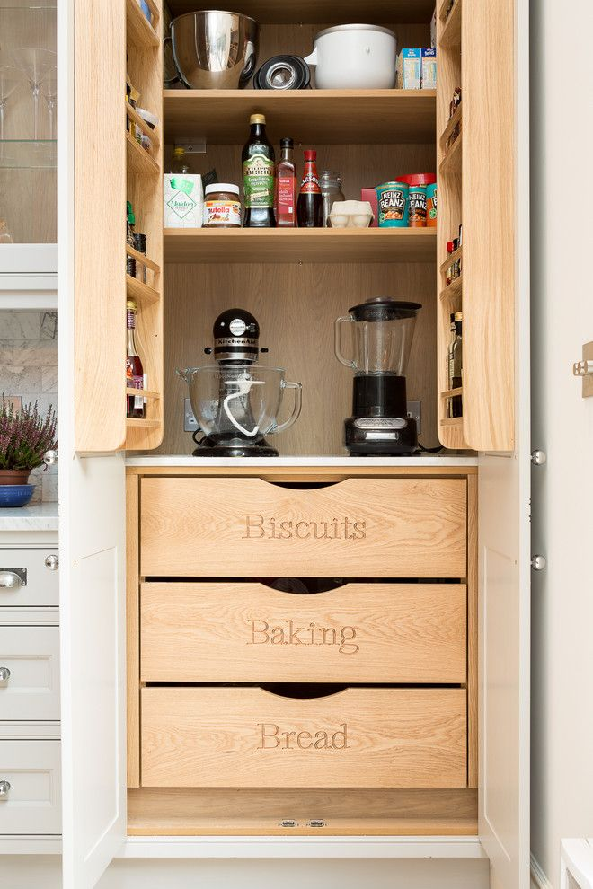 Get Rid of Ants in Kitchen for a Traditional Kitchen with a Engraved Drawers and O Road by Hughes Developments