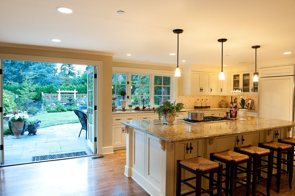 Get Rid of Ants in Kitchen for a Traditional Kitchen with a Granite Countertops and Traditional Kitchen by Paul Moon Design