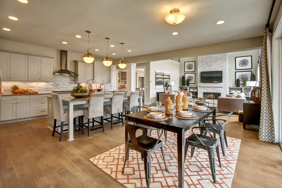 Gig Harbor Theater for a Craftsman Kitchen with a Crown Molding and the Enclave at Harbor Hill   Gig Harbor by Quadrant Homes