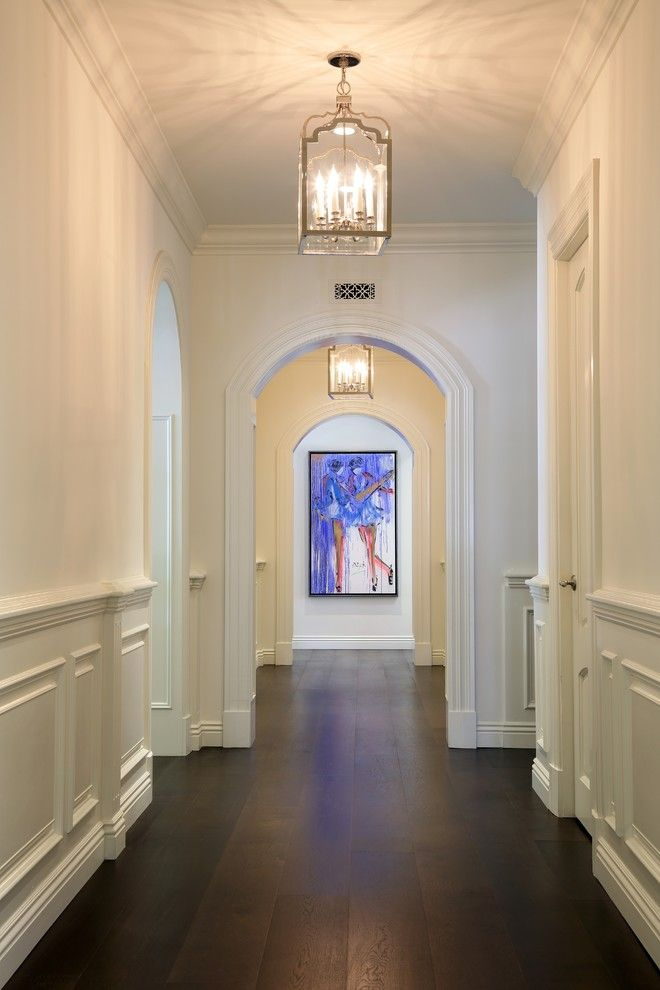 Gild Hall Nyc for a Traditional Hall with a Crown Molding and San Ysidro Beverly Hills by B&r Creative Builders