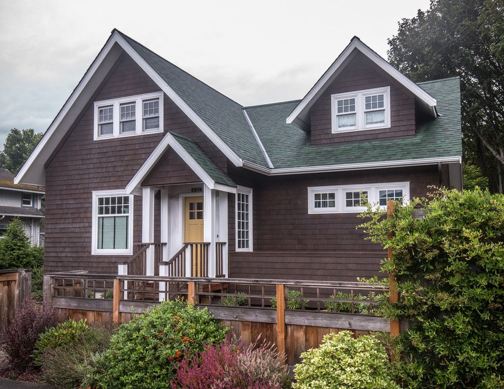 Glidden House for a Traditional Exterior with a Two Story Master Suite and Family Room Addition and Two Story Addition to Port Angeles House by Dungeness Design