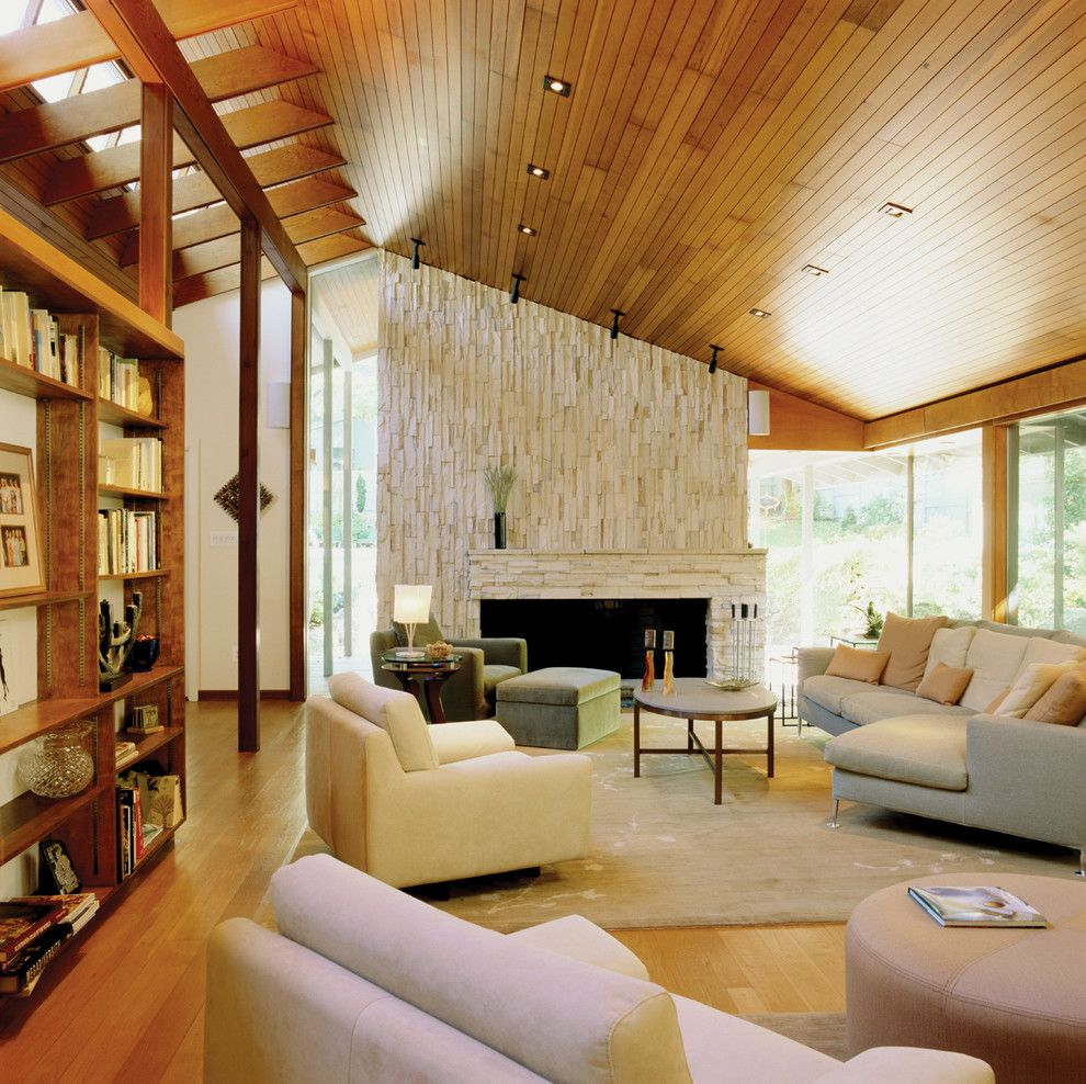 Goldsteins Furniture for a Contemporary Living Room with a Indoor Outdoor Living and Goldstein Residence by Shinberg Levinas Architectural Design