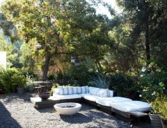 Goldsteins Furniture for a Industrial Landscape with a Backyard Landscaping Ideas and Beautiful Industrial Style Home by Juan Felipe Goldstein Design Co.
