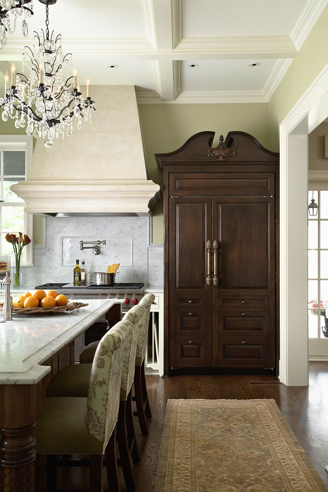 Goldsteins Furniture for a Traditional Kitchen with a Traditional and Kitchen by Charlie & Co. Design, Ltd
