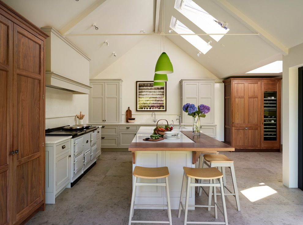 Goodwood Furniture for a Farmhouse Kitchen with a Bespoke and Sociable Family Living by Teddy Edwards