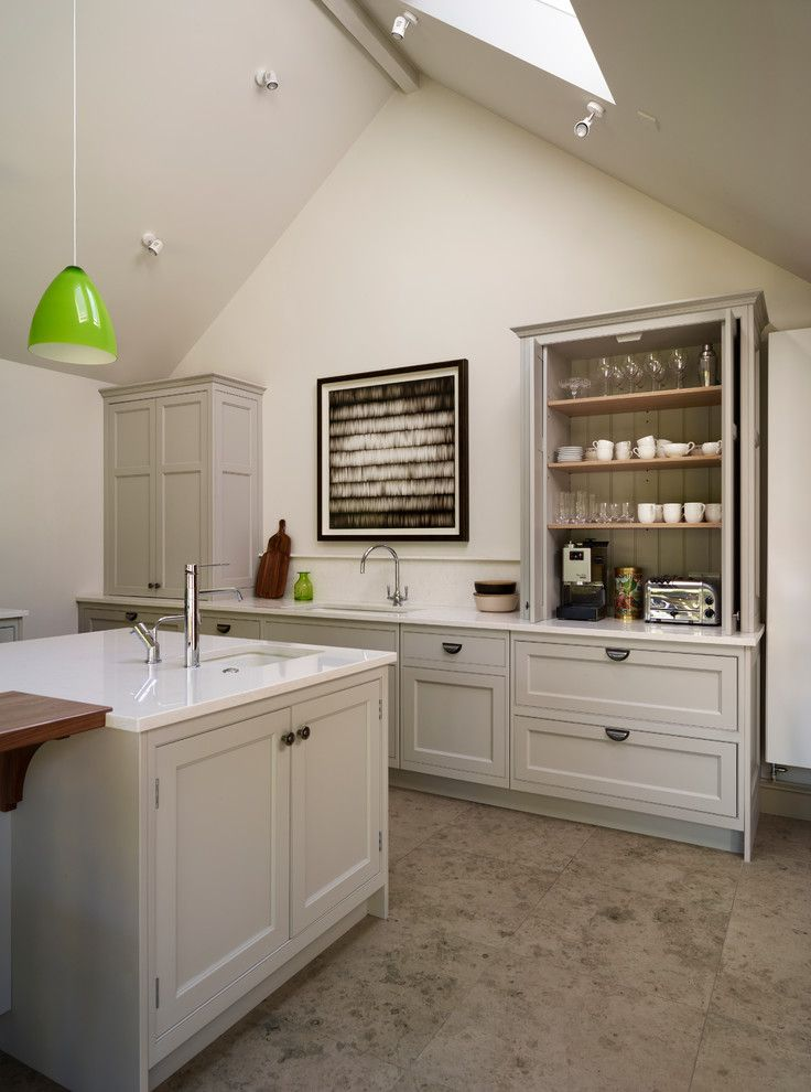Goodwood Furniture for a Farmhouse Kitchen with a Hand Crafted and Sociable Family Living by Teddy Edwards