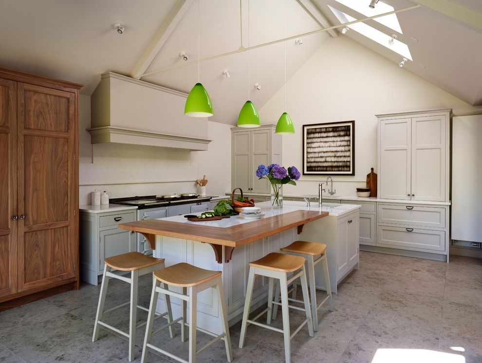 Goodwood Furniture for a Farmhouse Kitchen with a Handmade and Sociable Family Living by Teddy Edwards