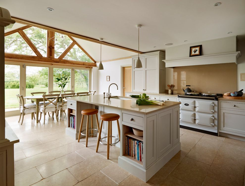 Goodwood Furniture for a Farmhouse Kitchen with a Made in Britain and Country Retreat by Teddy Edwards