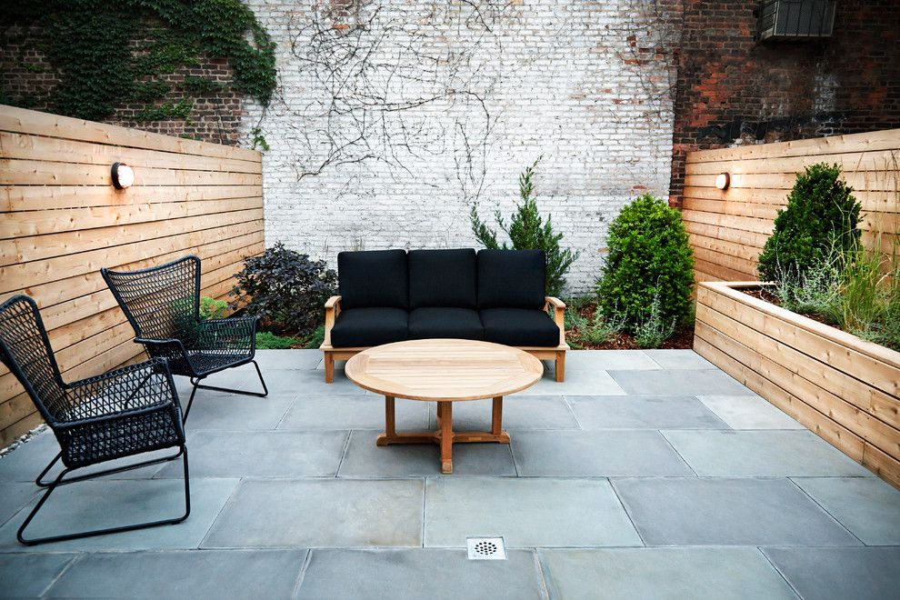 Goulds Discount Medical for a Contemporary Patio with a Planter and Modern in Bed Stuy by New Eco Landscapes