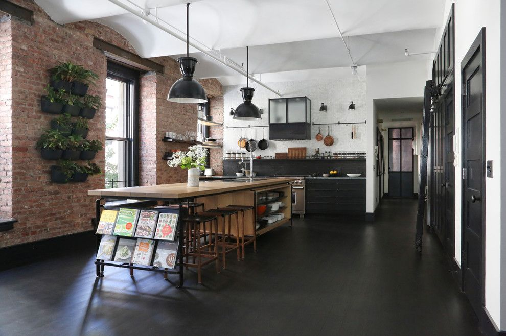 Grand Hyatt Nyc for a Industrial Kitchen with a Antique Glass and Great Jones by Union Studio