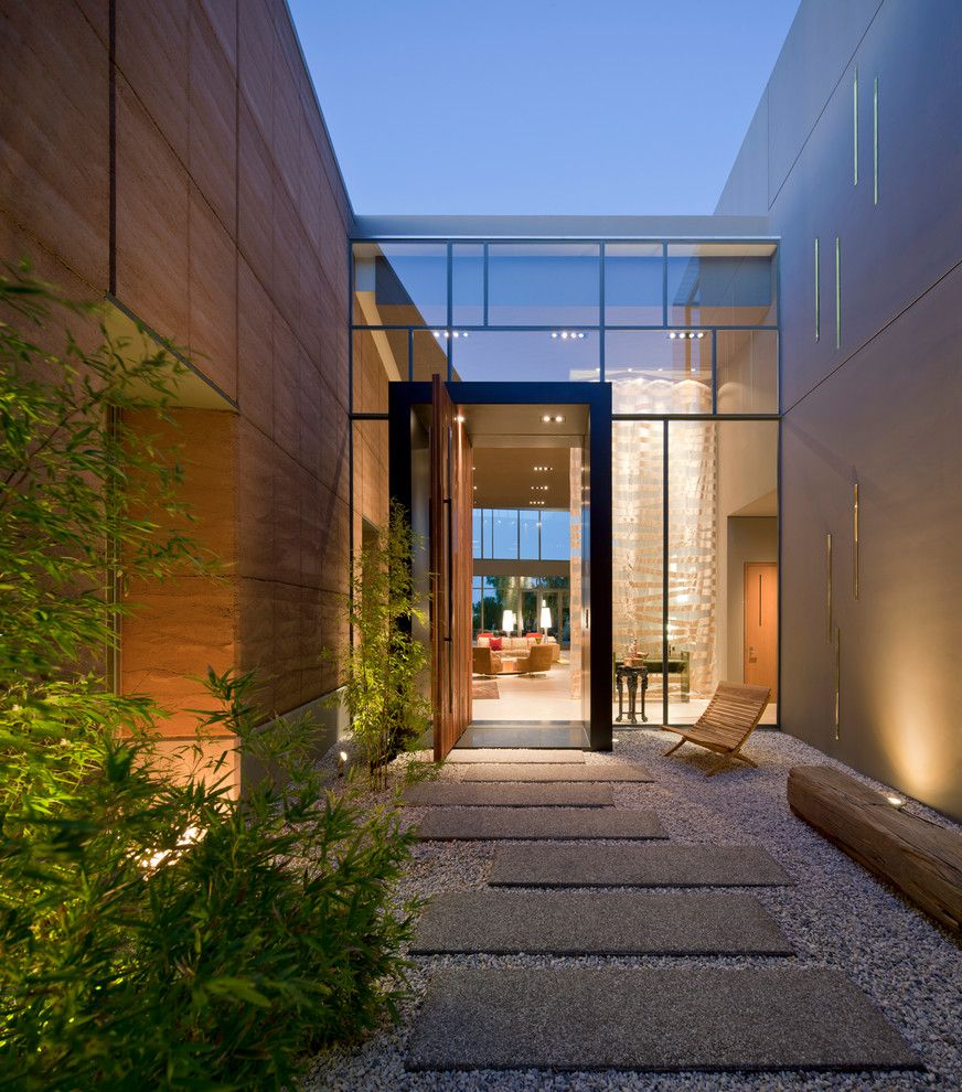 Grandview Heights Schools for a Contemporary Entry with a Glass Wall and J2 by Assemblage Studio
